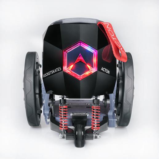 Per Tastentipp aktivieren Sie den eingebauten, von einem leistungsstarken Li-Ion-Akku gespeisten Motor.