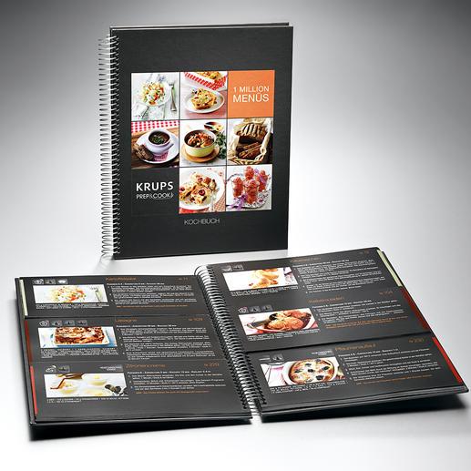 Kochbuch mit 300 Rezepten, gegliedert nach Vor-, Haupt- und Nachspeise. So bereiten Sie ganz einfach unzählige Menüs.