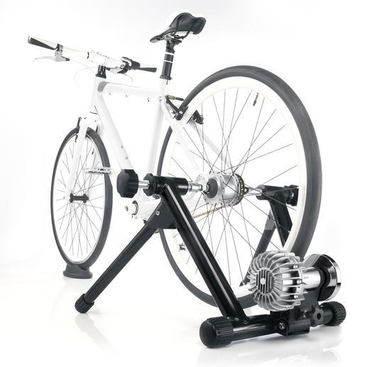 Fluid-Rollentrainer JHK-20674 - Moderner Radtrainer mit hydro-dynamischem Fluid-Widerstand (statt Bremse).