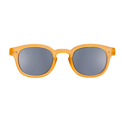 Lese-Sonnenbrille Softgelb