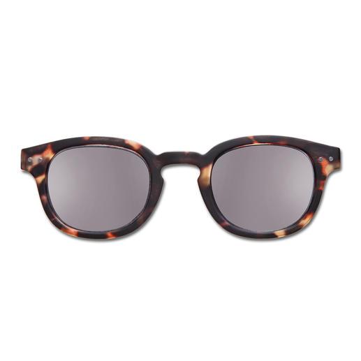 Lese-Sonnenbrille Schildpatt
