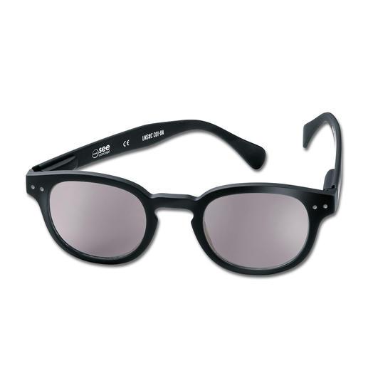 Lese-Sonnenbrille Schwarz