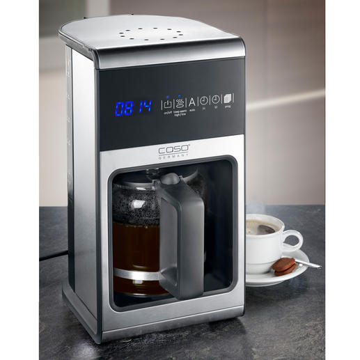 "Caso Design-Kaffeemaschine ""Coffee One"" - Top Funktionen. Top Design. Top Preis."