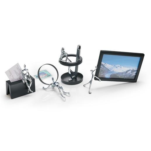 Schreibtisch-Accessoires - Funktionell und originell. Spiegeln amüsant bekannte Büro-Situationen.