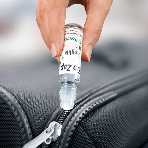 Reißverschluss-Gleitwachs, 3er-Set (3 x 10 ml) Schluss mit schwergängigen Reißverschlüssen. Praktischer Roll-on-Stift mit Silikon-Pflegewachs.