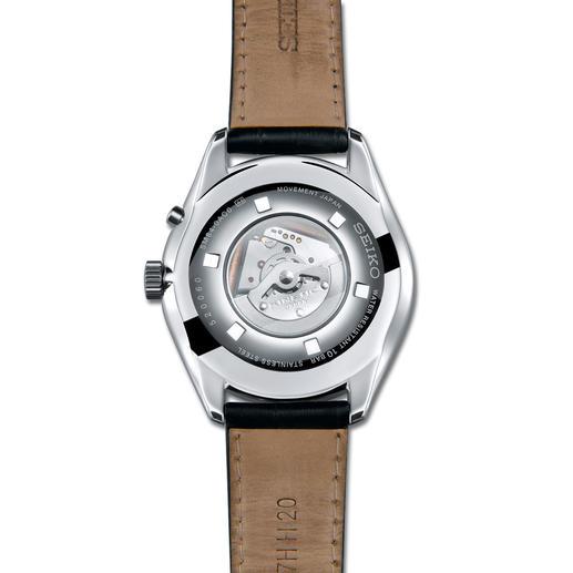 Seiko Kinetic Herrenuhr Läuft bis zu 100-mal länger als herkömmliche Automatik-Uhren.