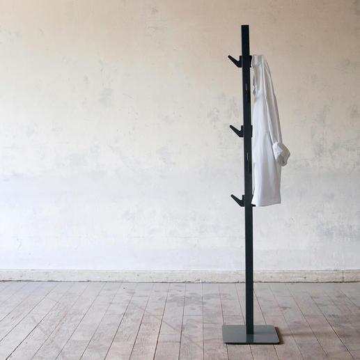 Garderobe Polehanger - Minimalistisches Design. Minimaler Platzbedarf. Maximaler Nutzen.
