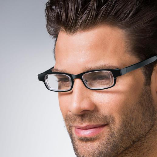 eyejusters selbst einstellbare brille 0 bis 3 dioptrien pro auge schwarz blau. Black Bedroom Furniture Sets. Home Design Ideas