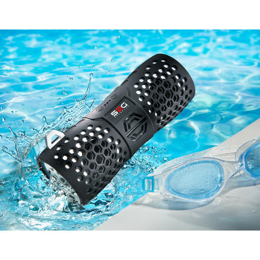 Bluetooth-Outdoor-Lautsprecher - Stylisch. Soundstark. Wasserfest. Der kabellose Bluetooth-Speaker für Strand, Pool, Camping, Boot, ...