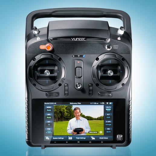 """Auf dem extragroßen 5,5"""" Touch-Display und können Sie die Aufnahmen in Echtzeit verfolgen."""