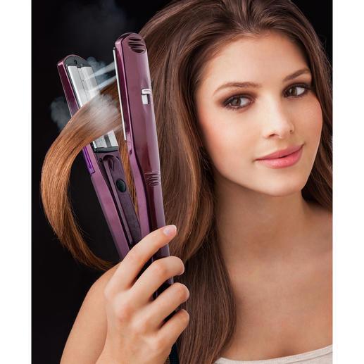 BaByliss® Dampfglätter iPro 230 Steam - Schneller. Intensiver. Schonender. Mit 5 Temperatur- und 2 Dampfstufen – für jedes Haar.