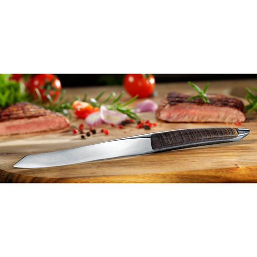 Steakmesser sknife - Das Steakmesser der Top-Gastronomie. In kleiner Stückzahl in der Schweiz gefertigt. Qualität für Jahrzehnte.