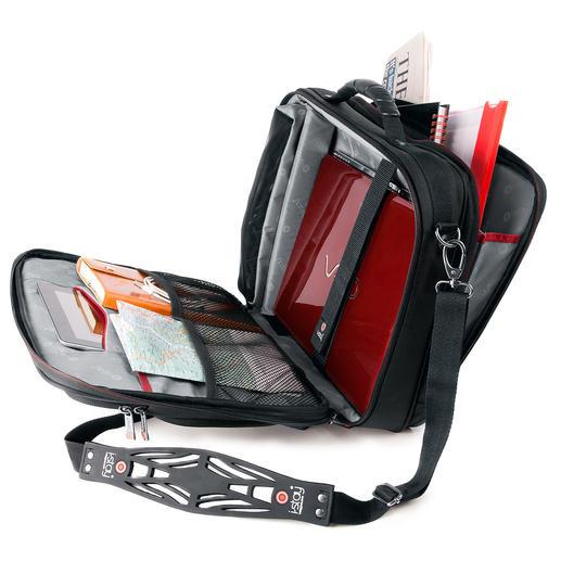 Laptoptasche und Taschengurt