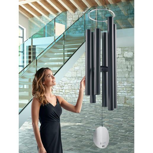 Gigantisches Wind-Klangspiel - Eindrucksvoll in Größe und Klangqualität: Dieses edle Windspiel verzaubert Ihren Garten, Ihre Wellness- und Innenräume.