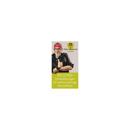 """Der aus dem TV bekannte Koch Stefan Marquard ist überzeugt: Dieser Smoothie-Maker """"erfüllt die beiden wichtigsten Dinge in der Küche, Leistung und Handhabung, par excellence""""."""