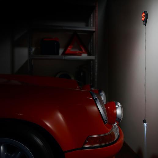 Garagen-Parksensor - Mit Sicherheit die gewünschte Parkposition in der Garage. Zentimetergenau.