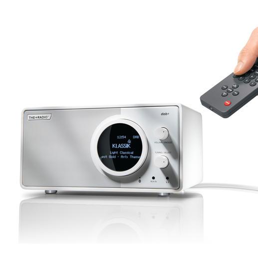 PlusRadioDAB+ - Digitalradio neuester Stand. Gleichzeitig Bluetooth-Speaker für Ihre Mobilgeräte.