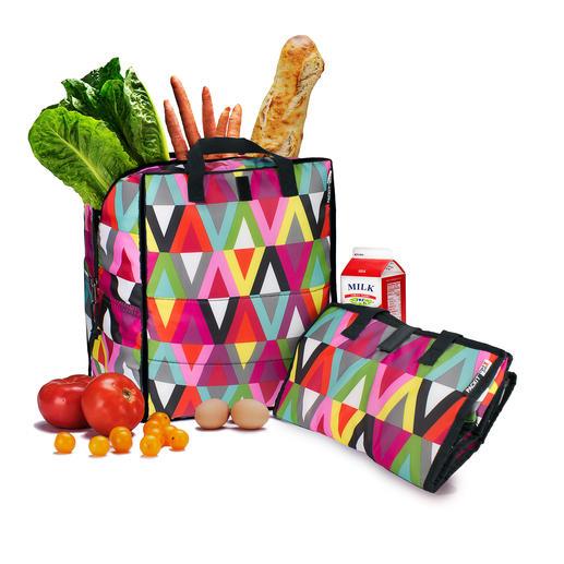 Kühltasche PACKiT® - Hält bis zu 5-mal länger kalt als herkömmliche Kühltaschen.