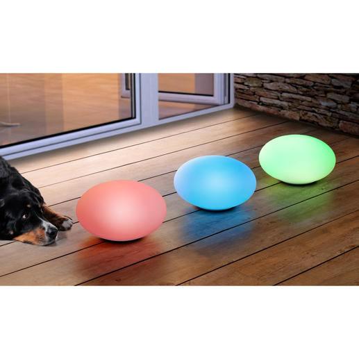 telefunken solar dekoleuchte oval led 1 2 w rgb oval t90223 wei. Black Bedroom Furniture Sets. Home Design Ideas