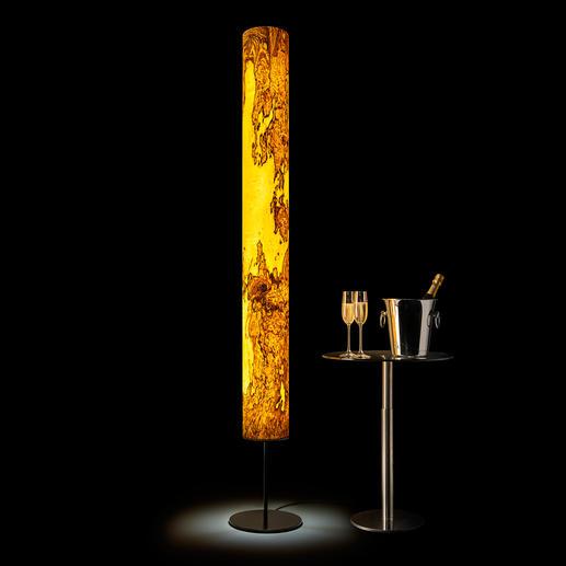 Design-Echtholz-Leuchte