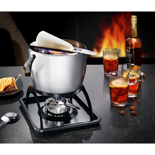 Spring Feuerzangenbowlen-Set - Elegantes Edelstahl-Design, hervorragend in Qualität und Verarbeitung. Von Spring, den gastronomischen Profis aus der Schweiz.