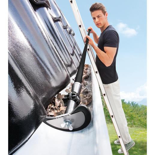 Dachrinnen-Reinigungsset, 2-teilig - Dachrinnen reinigen – einfach wie nie. Bis zu 4 m in einem Arbeitsgang.