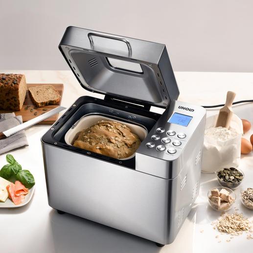 Unold Brotbackautomat Backmeister® - Alles, was Sie von einem guten Brotbäcker erwarten. Der komplett ausgestattete Brotbackautomat von Unold.