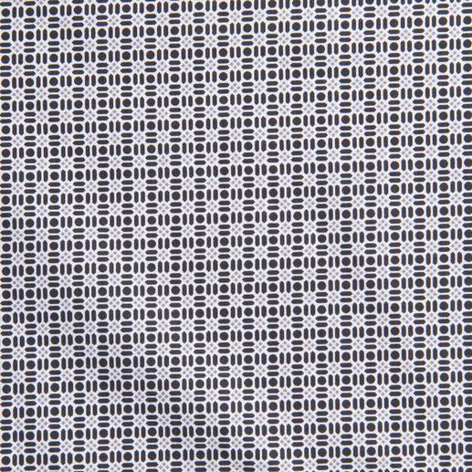 Lagerfeld Black & White-Hemd Schwarz-Weiß: Dauer-Trend und der Signature-Look von Lagerfeld.