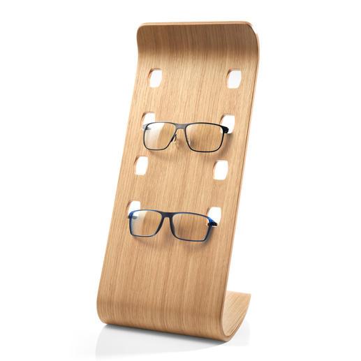 Brillen-Etagere - Ihre stylishen (Sonnen-) Brillen werden jetzt zum Blickfang.