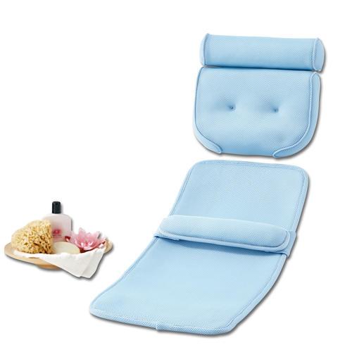 Badekomfort-Set, Kissen + Matte - Ihr Wohlfühl- und Entspannungsbad wird jetzt zur wahren Wellness-Oase.