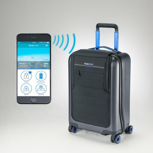 Sie ver- und entriegeln das digitale Schloss per Smartphone.