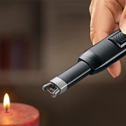 Stabanzünder Tesla-Lighter - Kein Feuerzeuggas oder -benzin. Keine Hitze in der Nähe Ihrer Hand. Kein gefährliches Aufflammen.