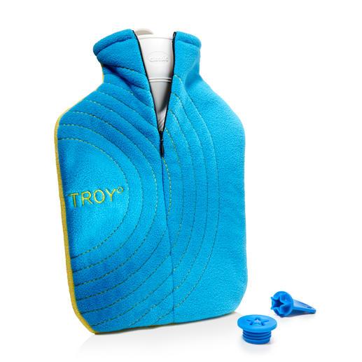 Troy° Wärmflasche Die patentierte TROY° Wärmflasche: mit genialem Salzpad, Premiumhülle und Sicherheitsverschluss.