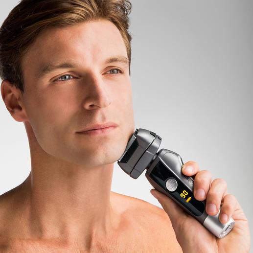 CARRERA Rasierer No521 Mit dem 4fach Schersystem rasieren Sie sich gründlicher, schneller, schonender.
