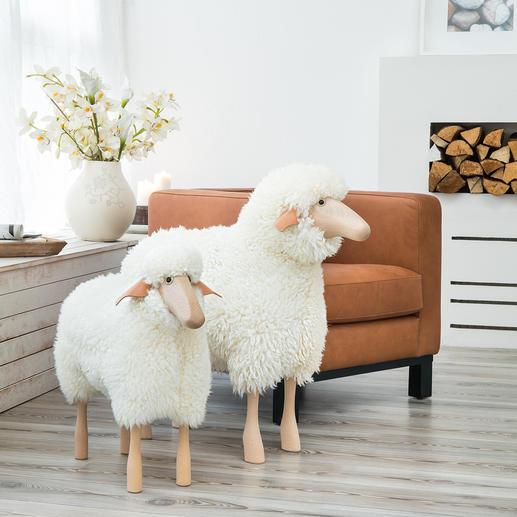 Schafe in Lebensgröße