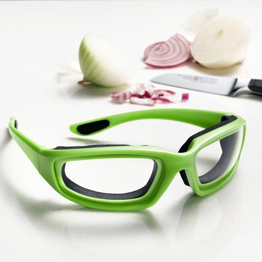 Zwiebelbrille - Zwiebelschneiden ohne Tränen. Mit der luftdicht schließenden Schutzbrille.