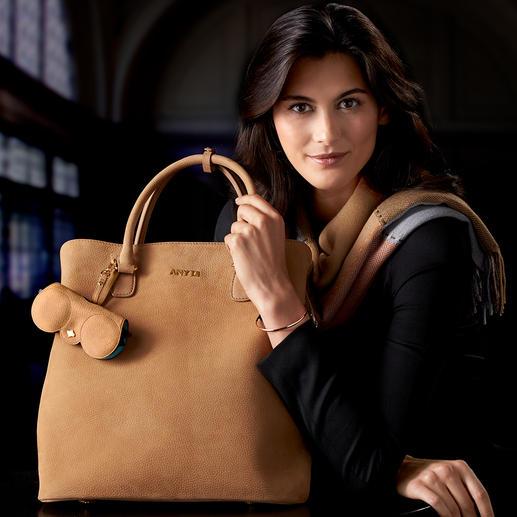 Business-Tasche Any Di - So stylish (und so wandelbar) kann eine Businesstasche sein. Aus wertvollem Nubukleder.