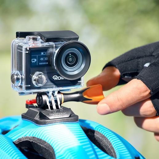 Rollei Action-Cam 430 - Gigantische 4K Ultra-HD-Auflösung. Bei 30 Bildern pro Sekunde.