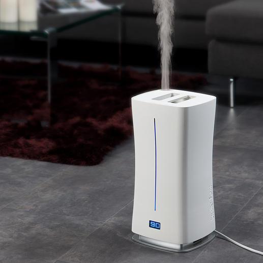 Design-Luftbefeuchter Warm & Cool - Präziser, effektiver (und schöner): der Design-Luftbefeuchter von Stadler Form, Schweiz.