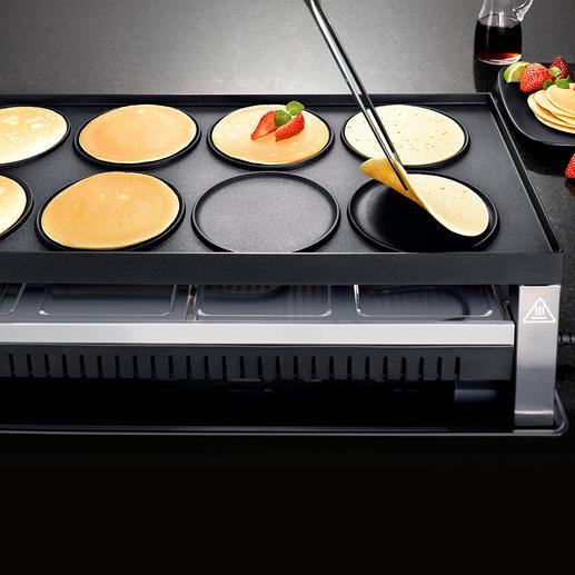 ...oder köstliche Pfannkuchen – direkt auf der Platte.