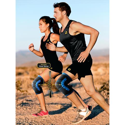 PFLEXX® Knie-Trainer Muskelaufbau rund ums Knie, dank genialer Federkraft – jetzt noch besser.