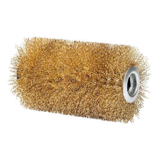 Stahldrahtbürste separat erhältlich: Für durch Flechten/Moose stark verschmutze Steinböden.