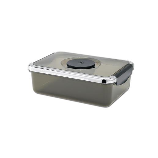 WMF Salat-to-go-Box (20,4x 14,5x 6,8cm) mit Dressingbehälter.