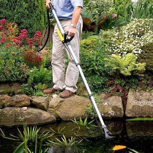 Handteichsauger Pond Vac - Der bessere Teichsauger: bis zu 30 % weniger Reinigungszeit. Bis zu 50 % höhere Saugkraft.
