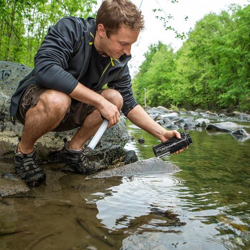 Wasserfilter-Flasche LifeStraw® Go - Sauberes Wasser in Sekunden. Überall. Beim Trekking, auf Fernreisen, Dschungeltour, ...
