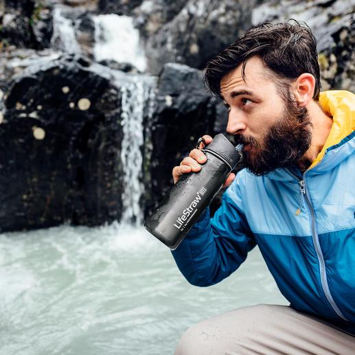 Wasserfilter-Flasche LifeStraw® Go