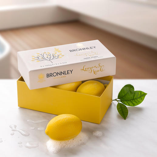Bronnley`s Lemon Soap, 3er-Set - So gut wie schon vor 125 Jahren: Original Bronnley's Lemon Soap.