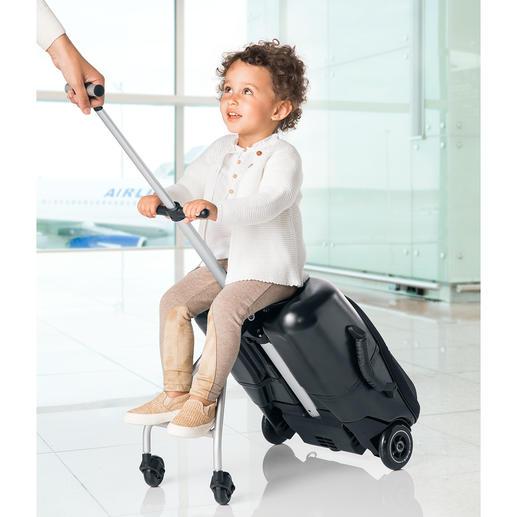 Micro Lazy Luggage - Stabiler Hartschalen-Trolley für Kurztrips. Zugleich ein stylisher Caddy für Kids.