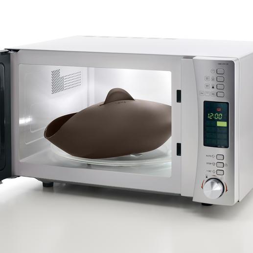 Die Form ist hitzebeständig von -60 °C – 220 °C. Somit ist sie auch für Mikrowelle, Kühl- und Gefrierschrank, Spülmaschine... geeignet.