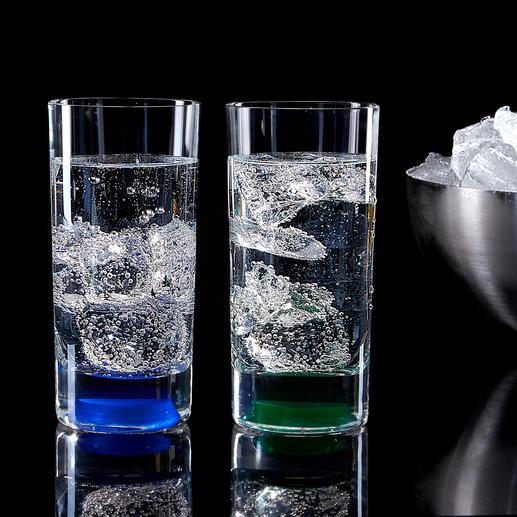 Eine einfache Berührung genügt und Ihre Drinks werden dank der LEDs eindrucksvoll in Szene gesetzt.